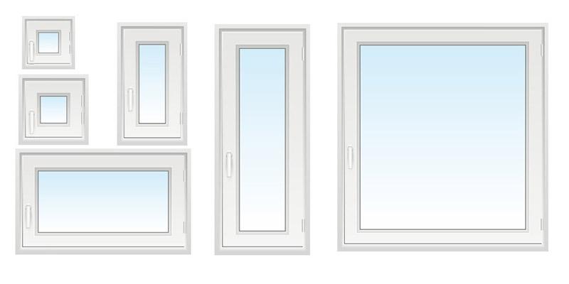 Sehr Fenstermaße » Standardfenster nach DIN Norm   neuffer.ch JH71