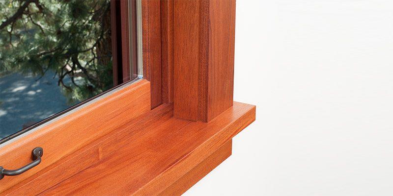 Fensterbänke Holz innen » modern in Weiß oder Holzoptik | neuffer.ch