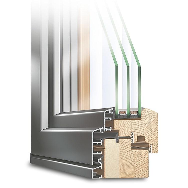 terrassent ren holz alu mit aluminiumschale. Black Bedroom Furniture Sets. Home Design Ideas
