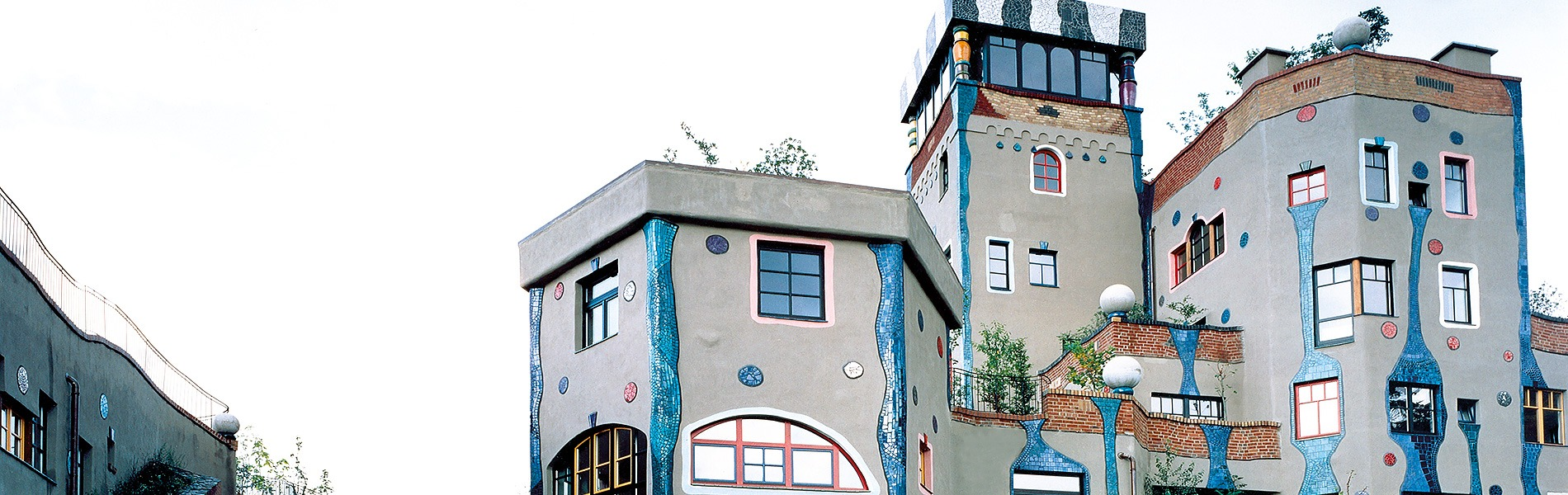 Hundertwasserhaus in Bad-Soden